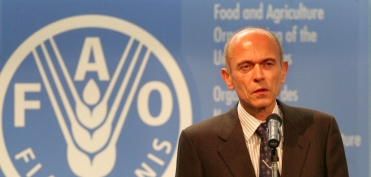 At the 60th Anniversary of the FAO (October 2005)
